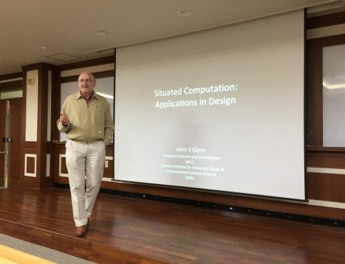 Prof. John Gero's Lecture